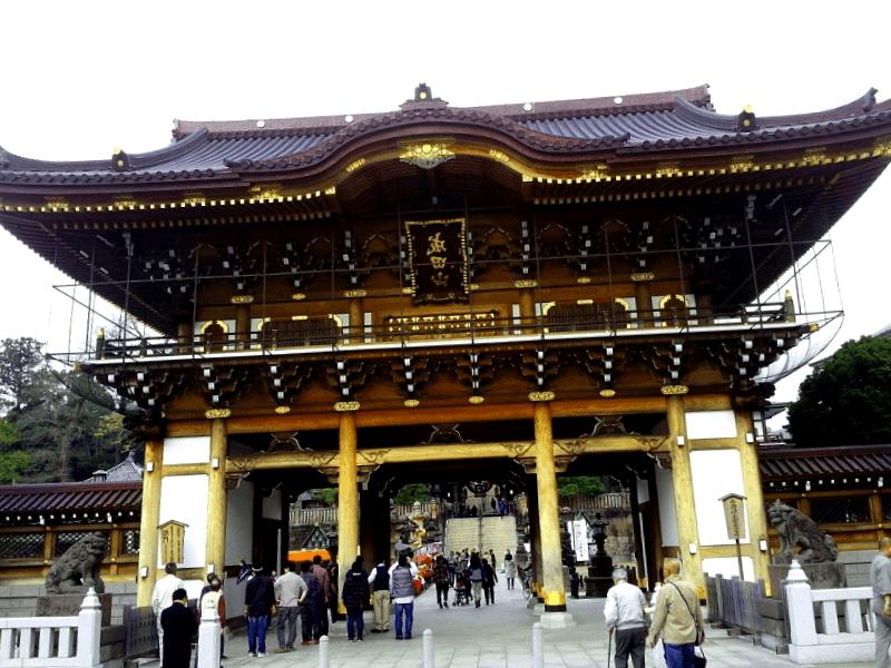 Que visitar en Templo Naritasan Shinshoji