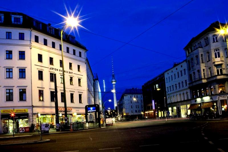 Visitar Alemania y maravillarse de The Circus Hotel