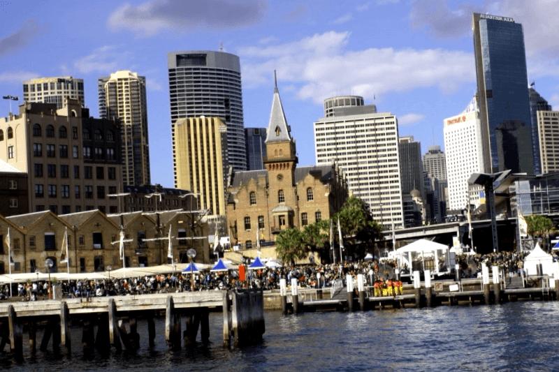 Visitar Australia y maravillarse de The Rocks
