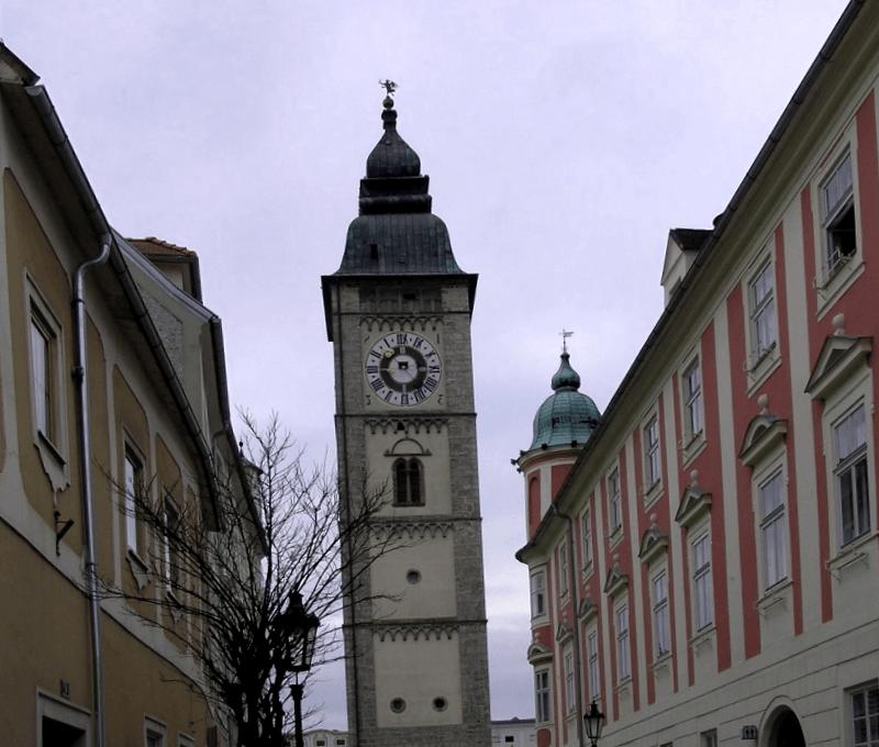 Ver Austria y descubrir de Torre de la Ciudad de Enns