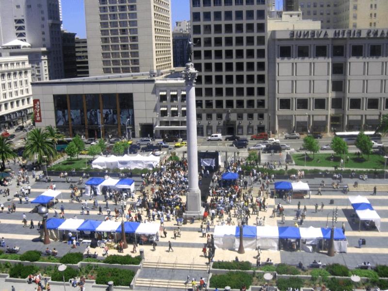 Ver Estados unidos y maravillarse de Union Square