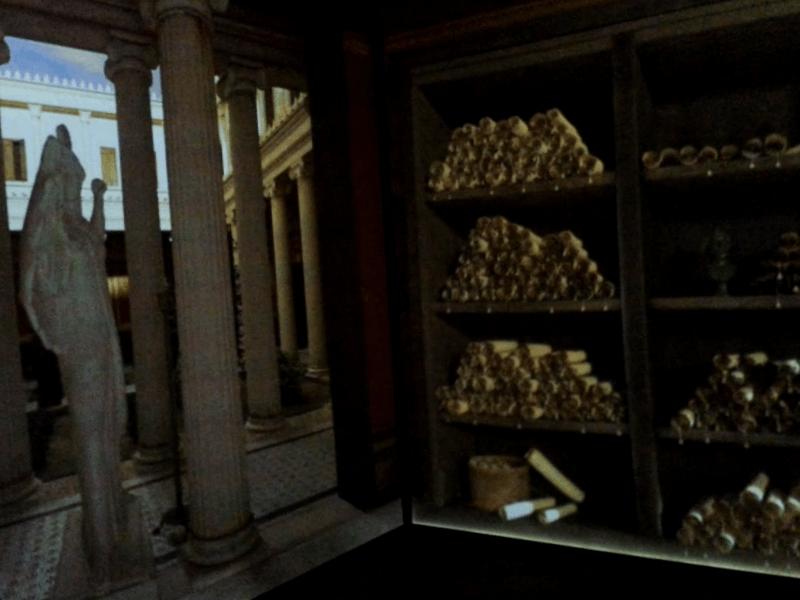 Villa de los papiros que ver
