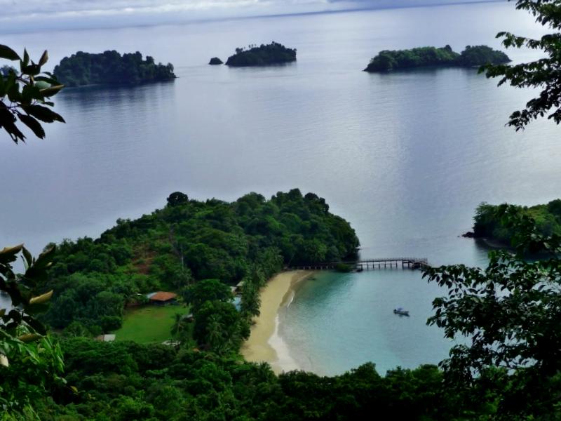 Visitar Panama y maravillarse de Vista parcial de Coiba