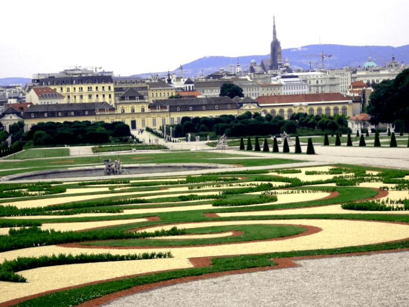 Ver Austria y maravillarse de Vista del Palacio Belvedere
