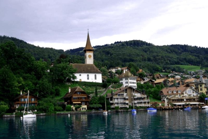 Que descubrir en Vista del lago de Thun