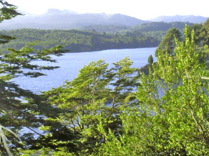 Que ver en Vista parcial del lago Alumine
