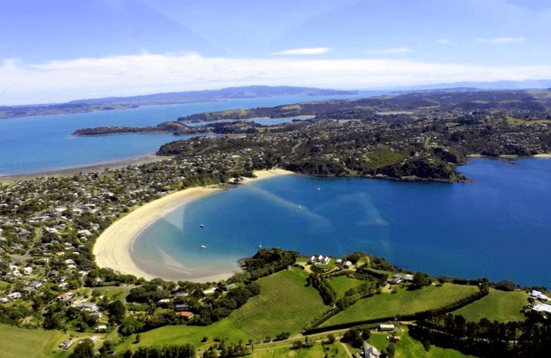 Visitar Nueva zelanda y descubrir de Waikeke Island