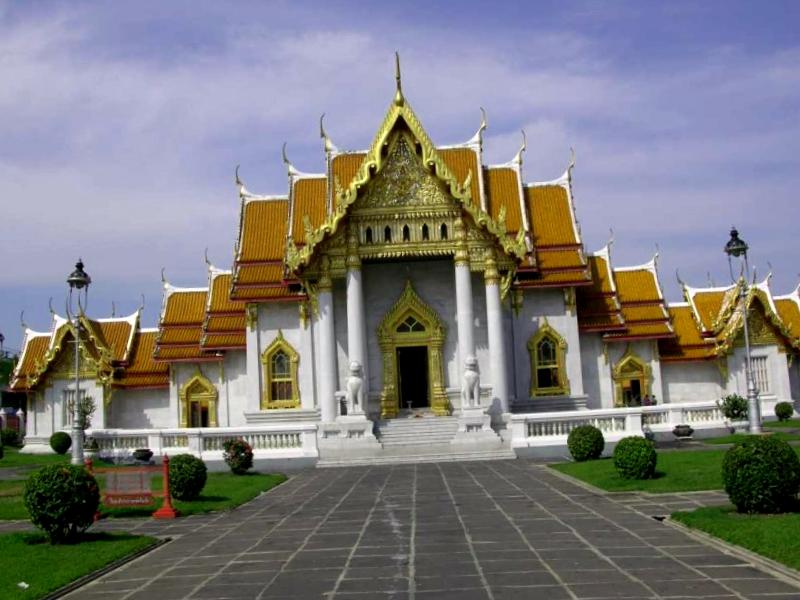 Wat Benchamabophit que ver