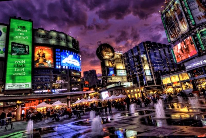 Ver Canada y descubrir de Yonge-Dundas Square