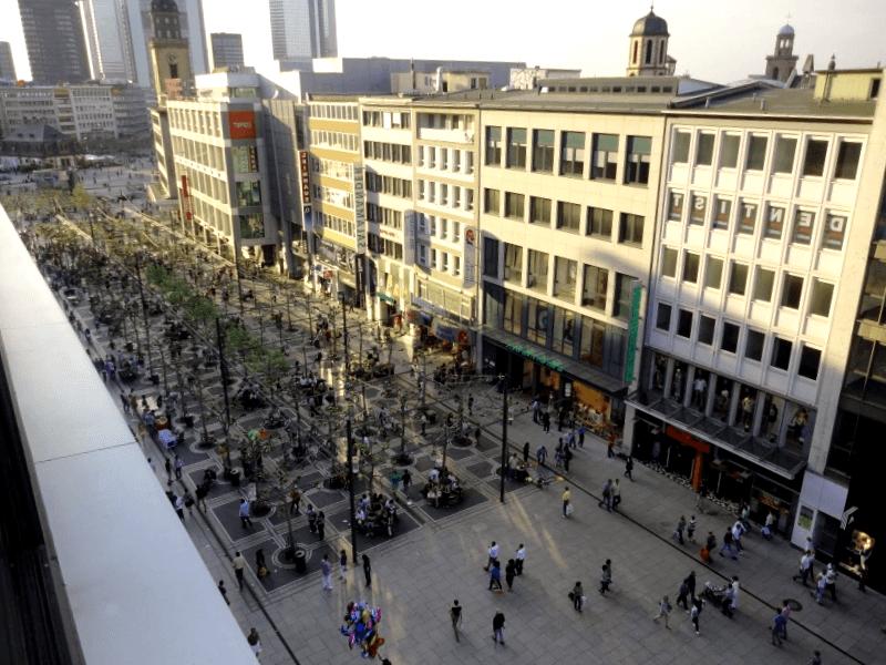 Ver Alemania y descubrir de la calle Zeil