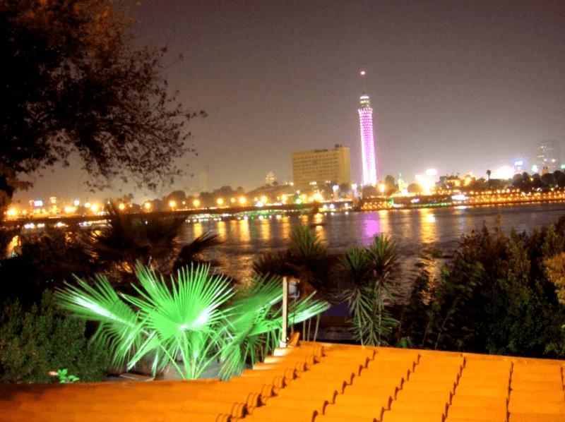 Ver Egipto y maravillarse de la isla de Gezira
